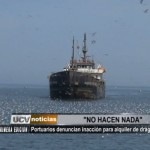 Portuarios denuncian inacción para alquiler de draga