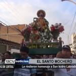 Le rindieron homenaje a San Isidro Labrador