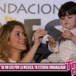 """Shakira: """"De no ser por la música, ya estaría embarazada"""""""