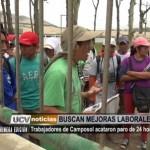 Trabajadores de Camposol acataron paro de 24 horas