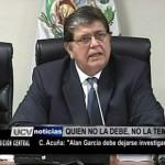 """César Acuña: """"Alan García debe dejarse investigar"""""""