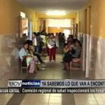 Comisión Regional de Salud inspeccionará hospitales