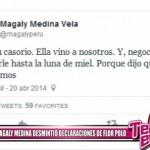Magaly Medina desmintió declaraciones de Flor Polo