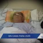 Informe de Contacto: Sin cama para vivir