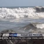 Mar de Buenos Aires volvió a castigar viviendas y causó terror
