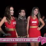 Pepe Alva asistió al concierto de Bobby Kimball
