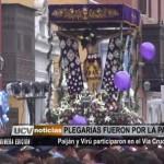 Paiján y Virú participaron en el Vía Crucis
