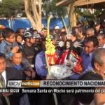 Semana Santa en Moche será patrimonio del país