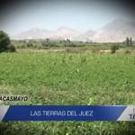 Informe de Contacto: La tierras del juez
