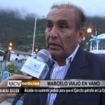 Daniel Marcelo pedirá patrullaje del ejército en La Esperanza