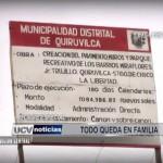 Informe Especial: Todo queda en familia en Municipalidad de Quiruvilca