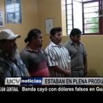 Banda cayó con dólares falsos en Guadalupe