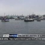 Enapu y Capitanía de Salaverry evalúan declaratoria de alerta