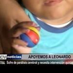 Ayuda social: Niño con parálisis cerebral necesita intervención quirúrgica