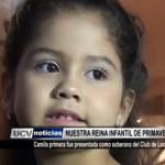 Camila I fue presentada como Reina Infantil del Club de Leones