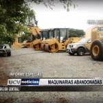 Informe Especial: Maquinarias abandonadas
