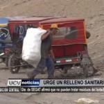 Gerente del SEGAT afirmó que no pueden tratar residuos del botadero