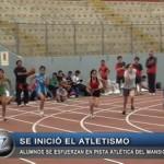 Se inició el atletismo de los Juegos Escolares 2014