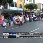 Comuna Provincial inició operativos contra ambulantes