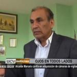 Alcalde Marcelo confía en adquisición de cámaras de vigilancia