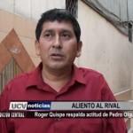 Róger Quispe respalda actitud de Pedro Olguín