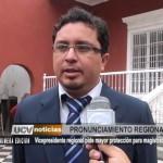 Informe Especial: Vicepresidente Regional pide mayor protección para magistrados