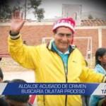 Informe de Contacto: Alcalde acusado de crimen buscaría dilatar proceso