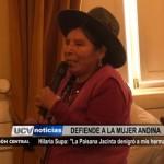 "Hilaria Supa: ""La paisana Jacinta denigró a mis hermanas"""