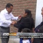 Candidatos APP recorrieron calles de Moche