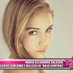 """María Alejandra Salazar: Talento, carisma y belleza en """"Bajo Control"""""""