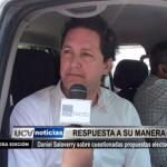 Daniel Salaverry responde sobre cuestionadas propuestas electorales
