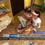 Reconstruyen institución inicial en Buenos Aires Sur