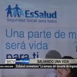 """EsSalud conmemora """"La semana del donante de órganos"""""""