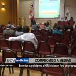 Sólo dos candidatos al Gobierno Regional iniciaron foro de propuestas