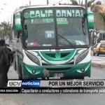 Capacitarán a conductores y cobradores de transporte público