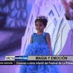 Coronan a Reina Infantil del Festival de la Primavera