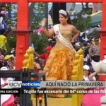 Trujillo fue escenario del 64° Corso de Primavera