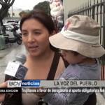 Trujillanos a favor de derogatoria al aporte obligatorio a las AFP