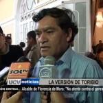 """Alcalde de Florencia de Mora: """"No atenté contra el gerente"""""""