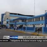 Trabajadores de EsSalud iniciarán huelga nacional