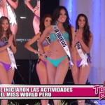 Se iniciaron las actividades del Miss World Perú