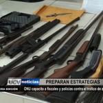 ONU capacita a fiscales y policías contra el tráfico de armas