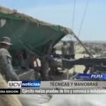 Piura: Ejército realiza pruebas de tiro y convoca a reclutamiento