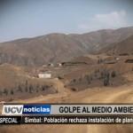 Informe Especial: Población de Simbal rechaza instalación de planta minera