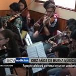 Arpegio celebra diez años de aniversario con un concierto