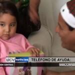 Ayuda social: Niña con leucemia requiere costoso tratamiento