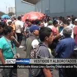 Partido entre Alianza Lima y Sporting Cristal no será en Trujillo