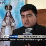Presentan oficialmente la festividad de la Virgen de la Puerta
