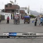 Asesinan a gallero y acusan a la Policía de liberar a presunto homicida