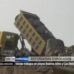 Reforzarán enrocados en playas Buenos Aires y Las Delicias